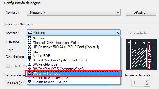 Cómo hacer un PDF en AutoCAD