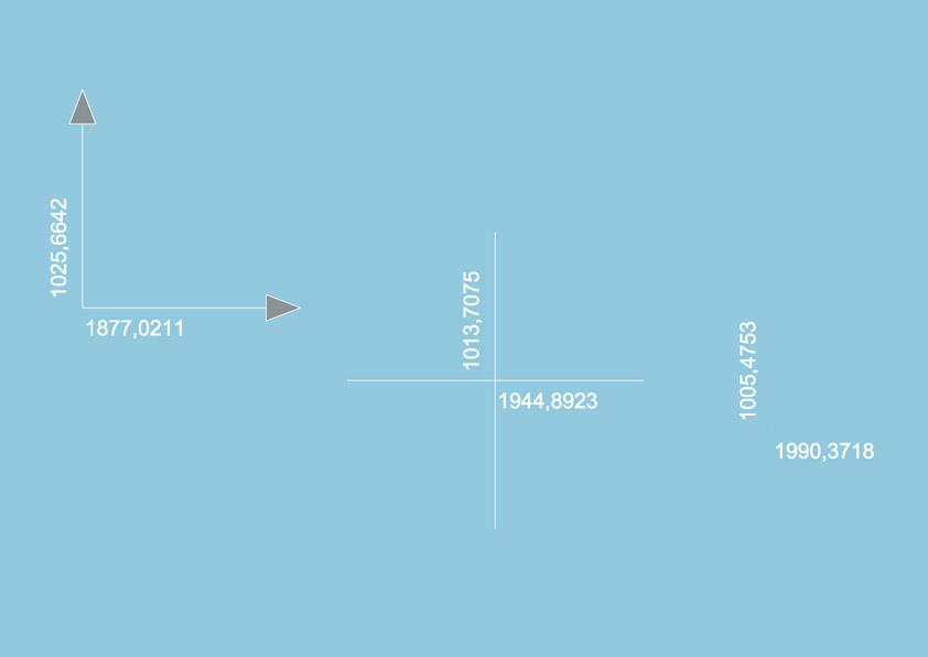 Bloque dwg de coordenadas para topografia
