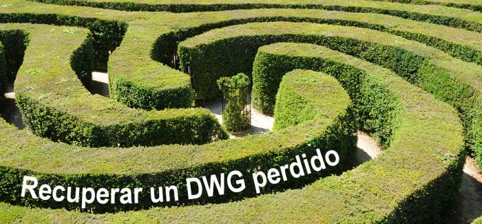Recuperar archivos dwg de AutoCAD