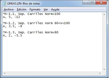 Tipos de líneas personalizadas AutoCAD