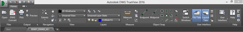 AutoCAD Viewer abrir archivo dwg