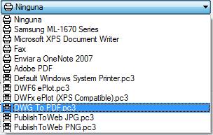 Como imprimir en AutoCAD
