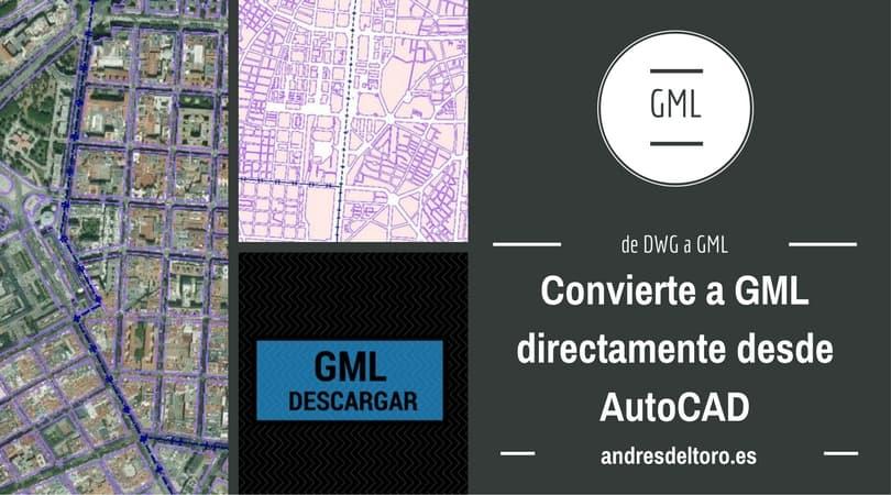 Utilidad para crear un GML de Edificio, Piscina y Parcela en AutoCAD valido para el catastro