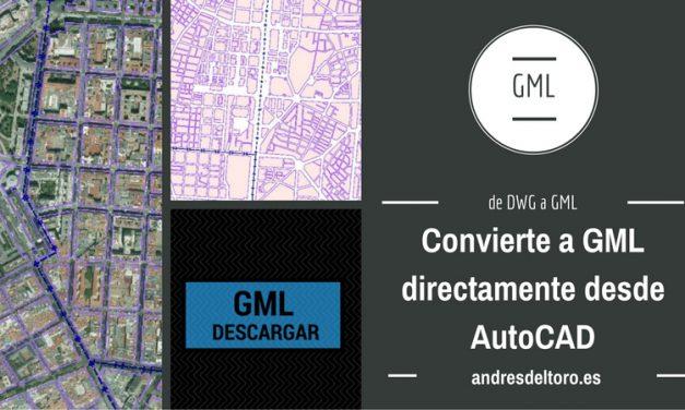 Utilidad para crear un GML de una parcela en AutoCAD