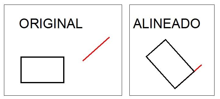Alinear-objetos-AutoCAD