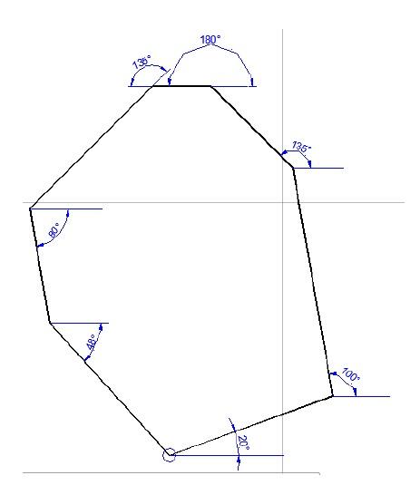 Dibujar una linea en autocad conociendo el angulo-2