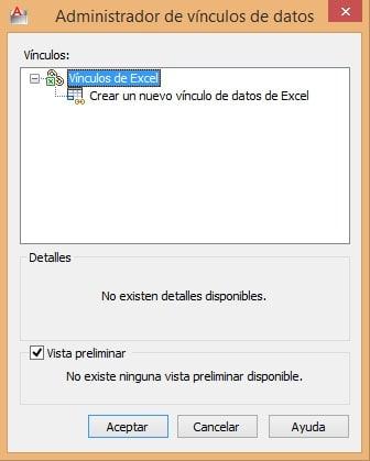 Vincular Excel y AutoCAD