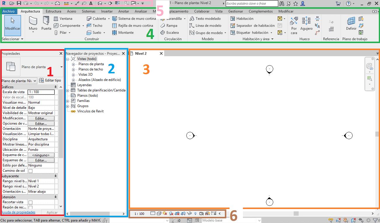 Como comenzar en Revit la pantalla de inicio