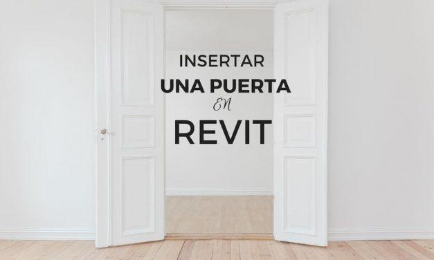 Revit: Cómo insertar puertas en muros y tabiques