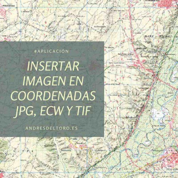 insertar imagenes TIF ECW JPG en coordenadas AutoCAD ZWCAD automaticamente