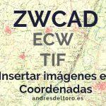 ZWCAD. Insertar una imagen en coordenadas