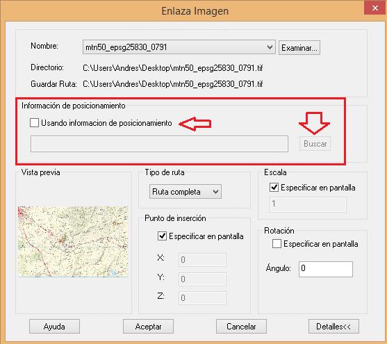 ZWCAD insertar imágenes en coordenadas