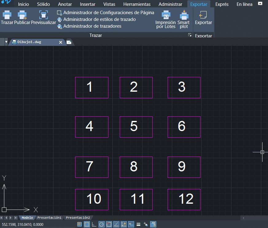 Imprimir en espacio modelo desde ZWCAD