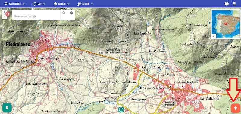 Descargar imágenes jpg de IBERPIX con coordenadas para insertar en AutoCAD