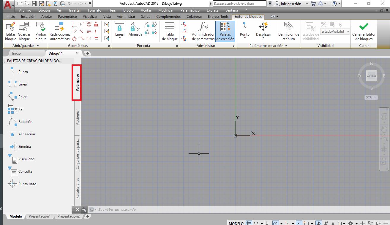 Como crear bloques dinamicos en AutoCAD