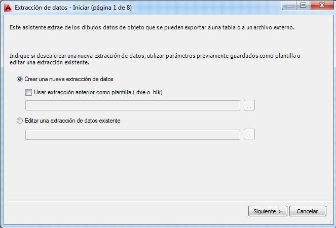Extracción de atributos en AutoCAD